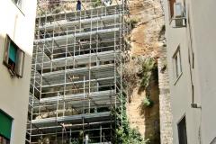 Consolidamento muratura in tufo - Via Palizzi n. 3 - Napoli